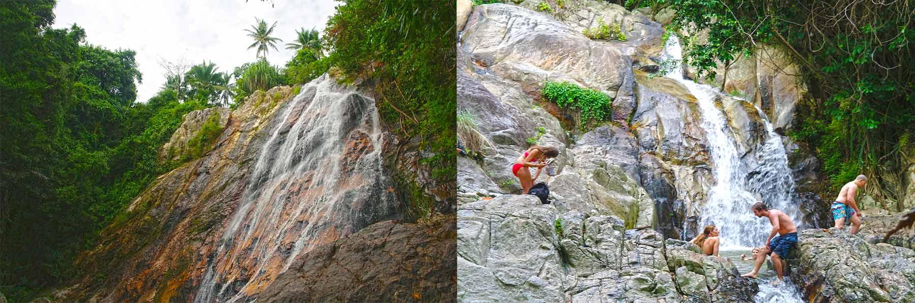 Samui Wasserfälle